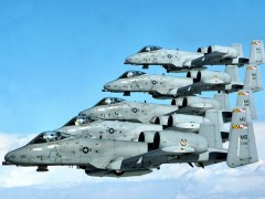 The A 10 Is more commonly known As The warthog Or Hog