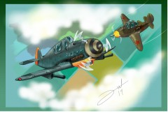 BF109 Y P39