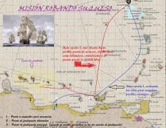 Mapa misión Robando Su queso