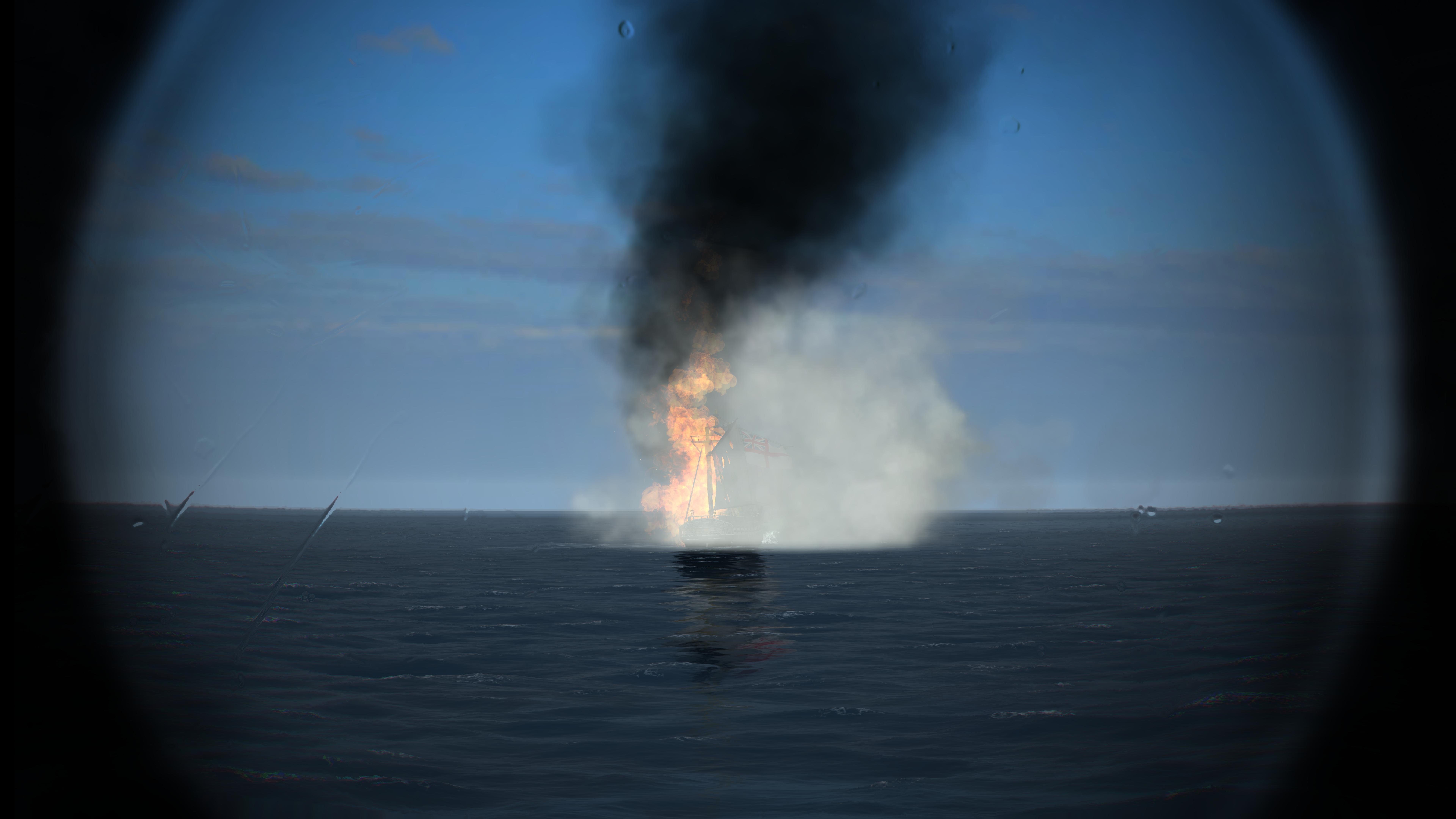 Trincomalee inglesa ardiendo 1