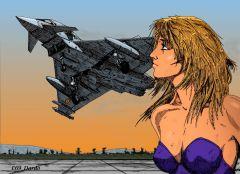 girl&Typhoon