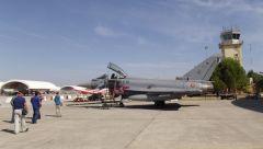 Visita a la base aérea de Morón