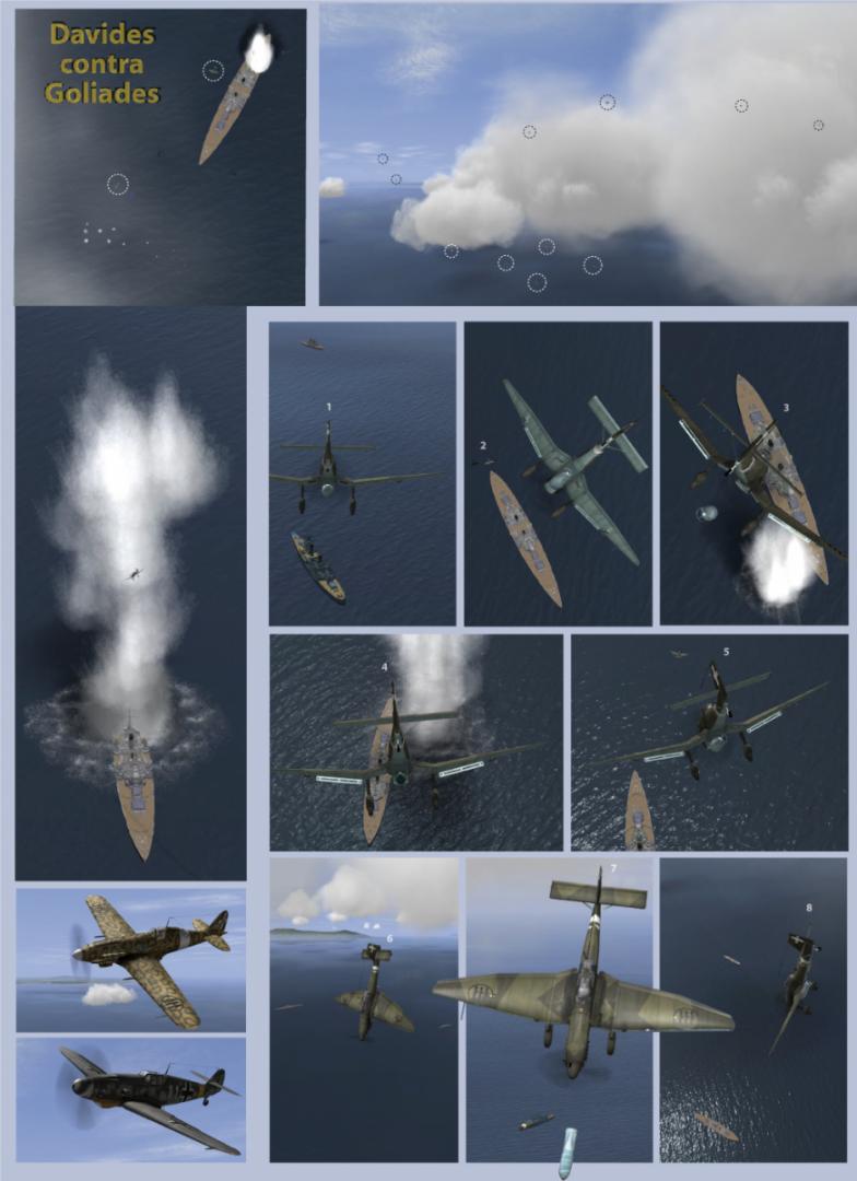 Ju-87 contra la flota