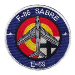parche sabre E69