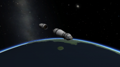 Kapollo 2 Second Stage Separation