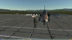 Sh1nden con su Su-25 tras aprobar el CR1
