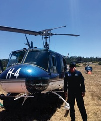E69 Helicopteros Bell 205 para incendios Forestales