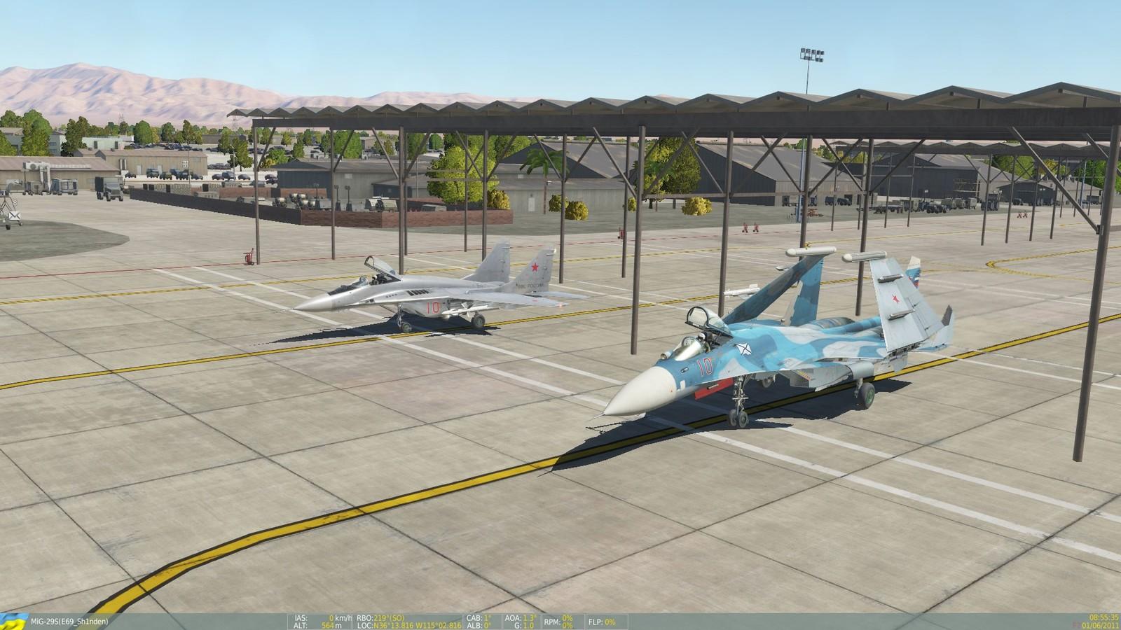 Luismon (Su-33) y Sh1nden (Mig-29S)