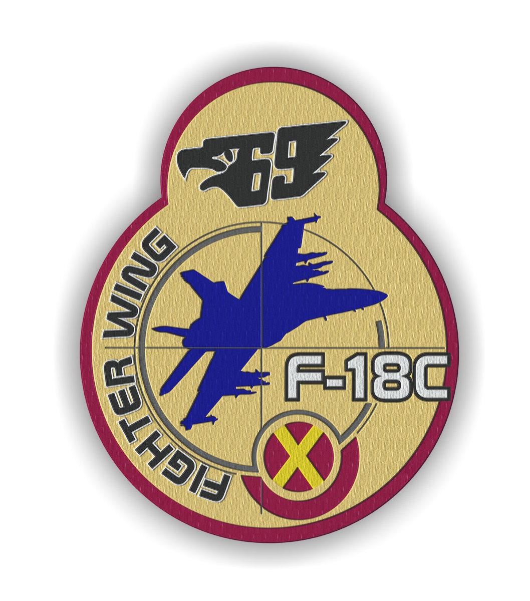 escuadron 69 ala F-18C parche.jpg
