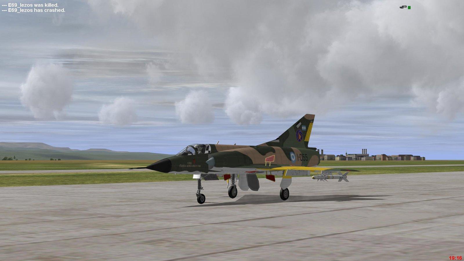Grupo 8 de Caza, VIII Brigada Aerea, Fuerza Aerea Argentina