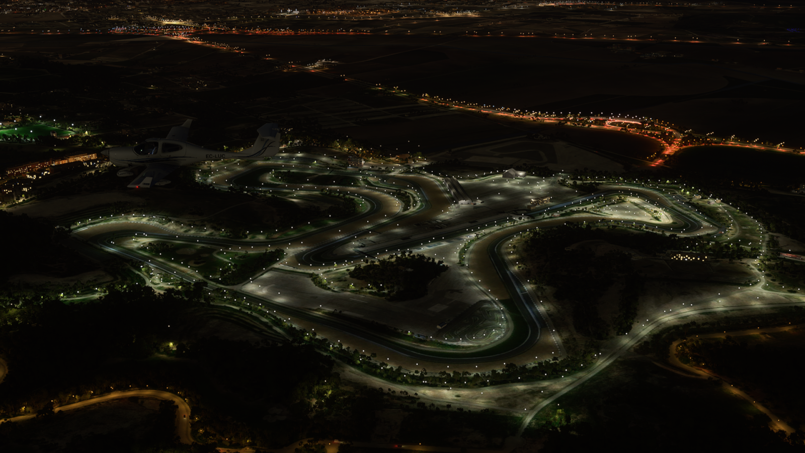 Circuito de velocidad de Jerez.